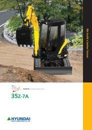 hyundai r35z-7a - Stroje Slovakia