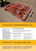Podmítka a příprava půdy v jednom - kverneland group czech - Page 2