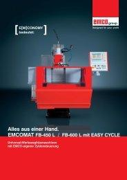 Emcomat FB EasyCycle_RZ - Stroje Slovakia