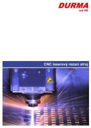 CNC laserový rezací stroj - Stroje Slovakia