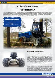 ROTTNE H14 - Stroje Slovakia