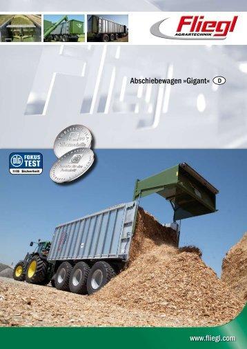 Abschiebewagen »Gigant« - Stroje Slovakia