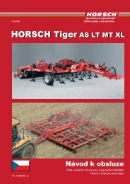 HORSCH Tiger AS LT MT XL HORSCH Tiger AS LT MT XL - Ematech
