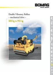 BW75 - Pedestrian Vibrating Roller (Twin Drum) - Chiltern Hire ...