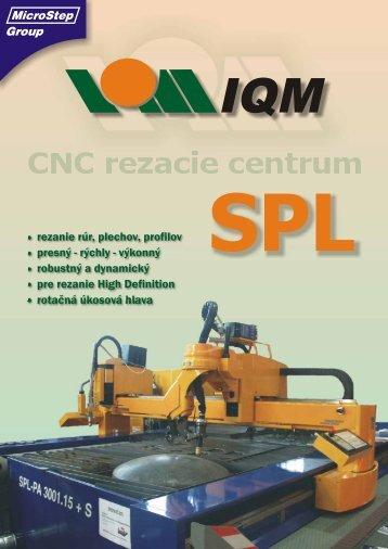 SPL plazmová rezačka - Stroje Slovakia