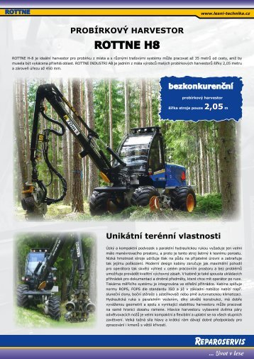 ROTTNE H8 - Stroje Slovakia