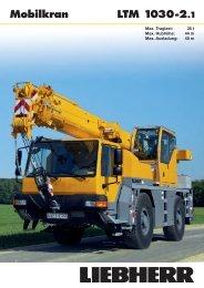 LTM 1030-2.1 Mobilkran - Stroje Slovakia