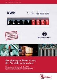 Flyer Delta Volt - Produkte