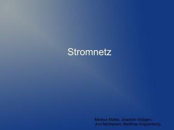 Stromnetz - Stromberg-Gymnasium