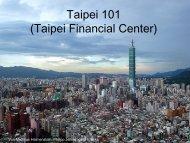 Das Hochhaus Taipei 101 - Stromberg-Gymnasium