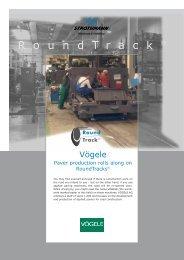 Paver production rolls along on RoundTracks® (PDF) - Strothmann ...
