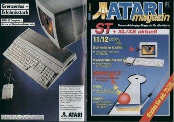 Page 1 Das unabhängige Magazin für alle Ataris + XL/XE aktuell ...