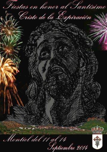 PROGRAMA DE FIESTAS SEPTIEMBRE 2014 EN MONTIEL