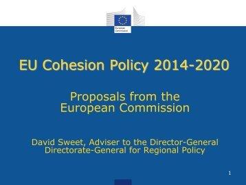 EU Cohesion Policy 2014-2020