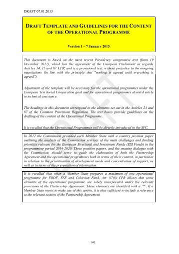 Standard operating guidelines sog 3 03 category for Operational guidelines template