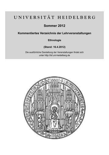 Modul 2 - Institut für Ethnologie Universität Heidelberg
