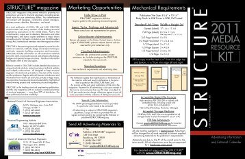 Click here for Classified's pricing - Structure Magazine