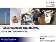 Faserverstärkte Kunststoffe - ETH - Composite Materials and ...