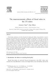 The macroeconomic effects of fiscal rules in the US states