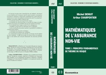 mathématiques de l'assurance non-vie - Pages personnelles ...