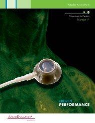 Triumph-1 Promotional Literature - AngioDynamics