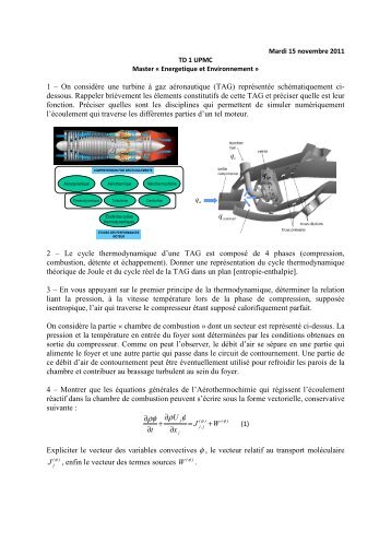 φρ ρφ - Master 2 en Mécanique des fluides et Energétique