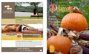 Volume 22 numéro 6 - 15 octobre 2010 - Ville de Lac-Delage