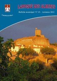 BM n° 15 Automne 2012 - Mairie de Laroque des Albères