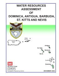 water resources assessment of dominica, antigua, barbuda, st. kitts ...