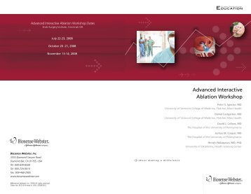 Download Brochure -  Biosense Webster