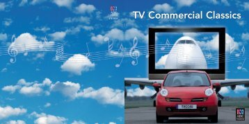 TV Comm Classics Booklet - Buywell