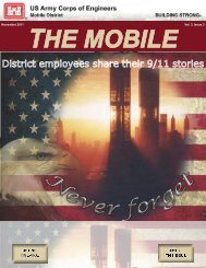 November 2011 Vol. 3, Issue 3 - Mobile District - U.S. Army
