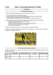 2º eso tema 9: los ecosistemas de la tierra - Dolmen de Soto