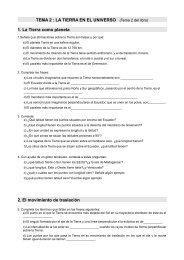 TEMA 2 : LA TIERRA EN EL UNIVERSO (Tema 2 ... - Dolmen de Soto