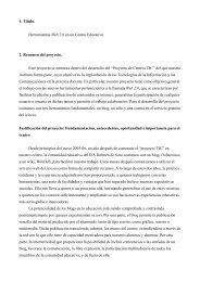 Herramientas Web 2.0 en un Centro Educativo - Dolmen de Soto