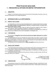 PRÁCTICAS DE GEOLOGÍA: 1. - INICIACIÓN AL ... - Dolmen de Soto