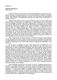 Otro problema en Argentina - Dolmen de Soto
