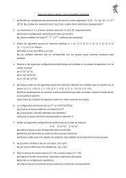 Ejercicios sobre el átomo y las propiedades ... - Dolmen de Soto