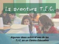 La aventura TIC: algunas ideas sobre el uso de ... - Dolmen de Soto