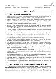 EVALUACIÓN - Dolmen de Soto