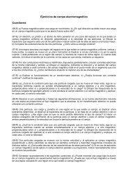 Ejercicios de campo electromagnético Cuestiones - Dolmen de Soto