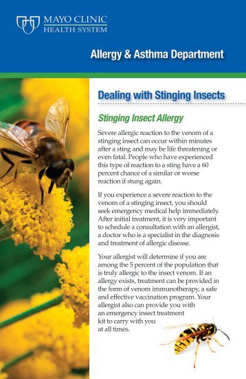 Allergy & Asthma Department - Mayo Clinic Health System