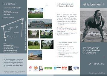 Télécharger la brochure au format PDF - Centre culturel de Marchin