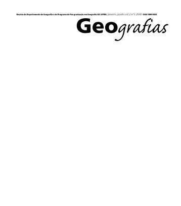 Revista edicao #2. - IGC - Universidade Federal de Minas Gerais