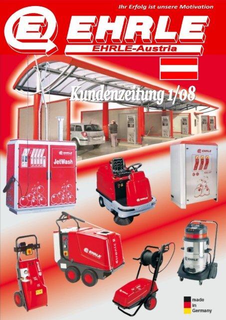 Kundenzeitung - EHRLE Austria