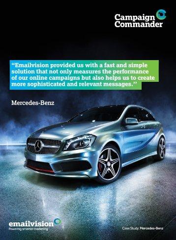 Mercedes-Benz - Emailvision