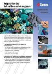 Téléchargez la brochure PDF - Struers