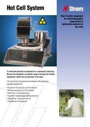 Download PDF brochure - Struers