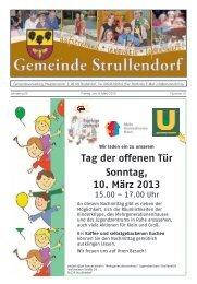 Mitteilungsblatt KW 10 im Jahr 2013 - Strullendorf