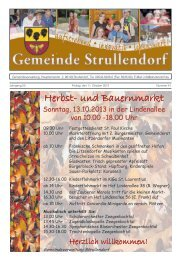 Mitteilungsblatt KW 41 im Jahr 2013 - Strullendorf